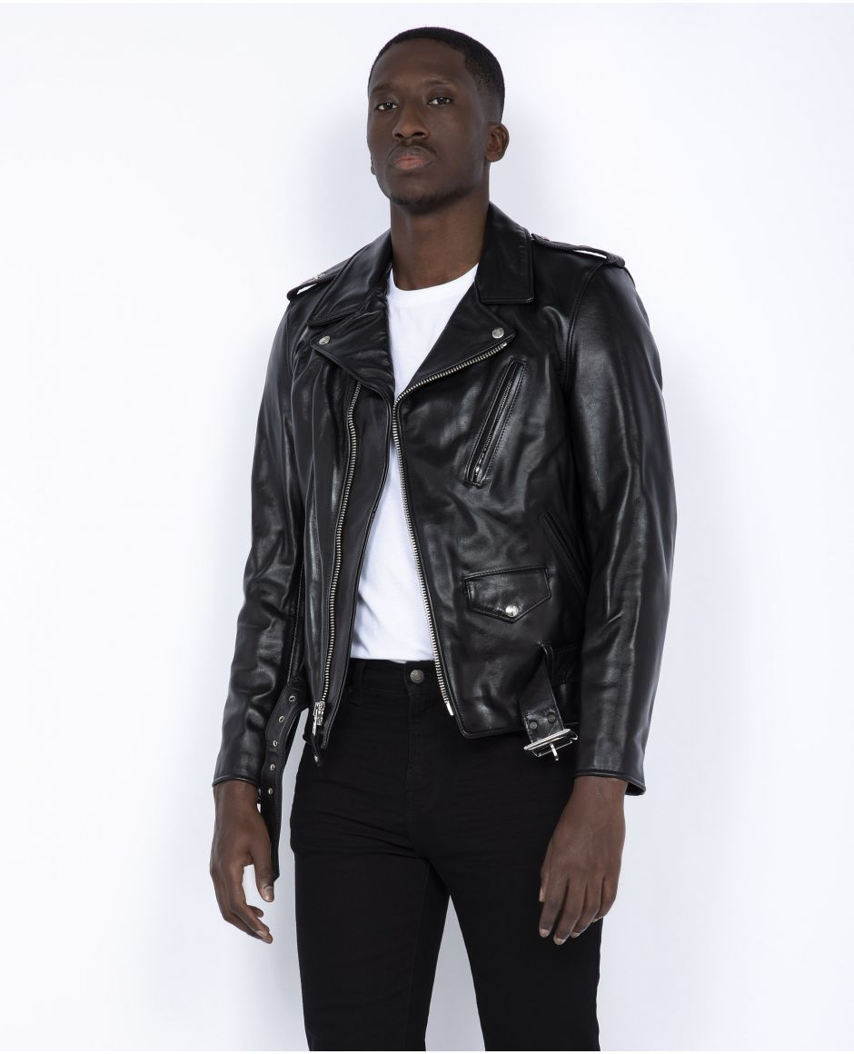 Iconic Perfecto horsehide motorcycle jacket