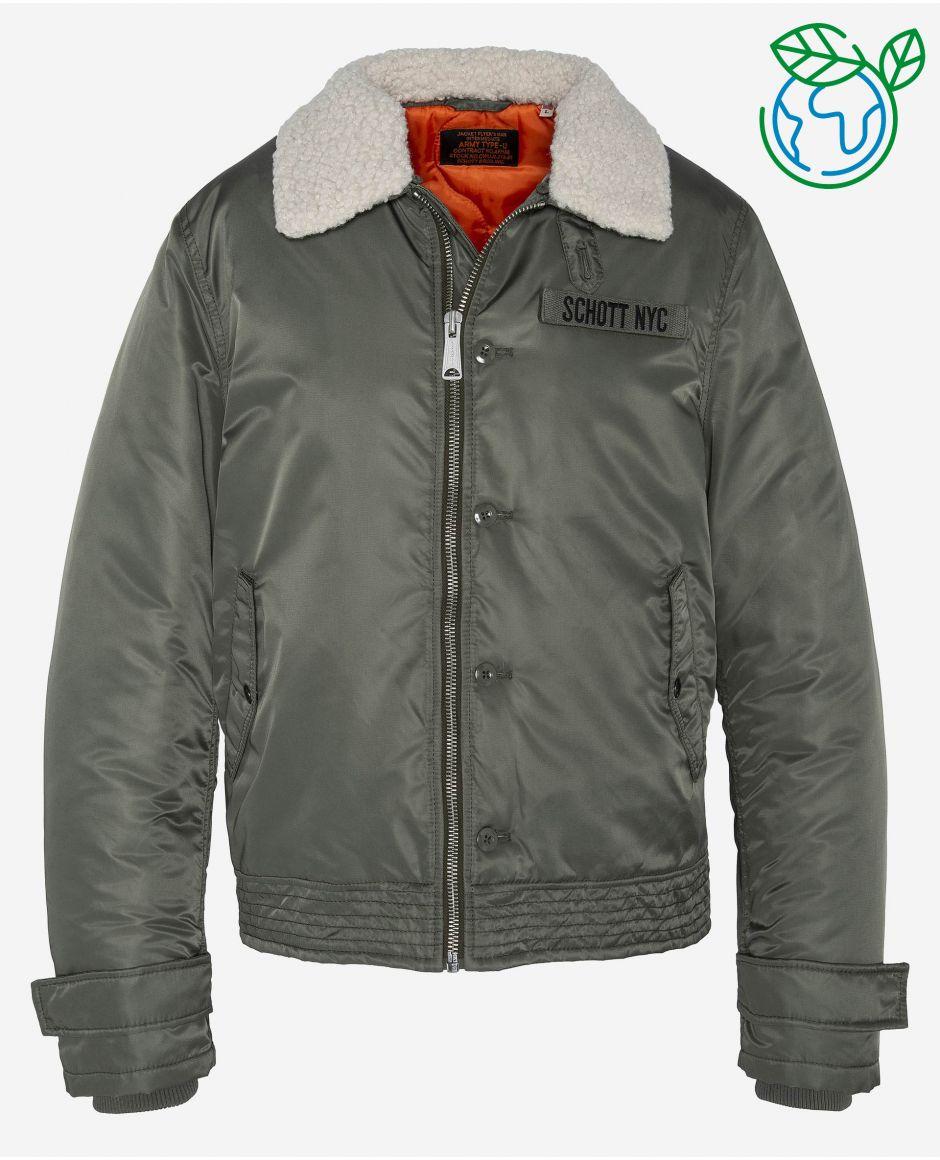 A1 army jacket, ecofriendly