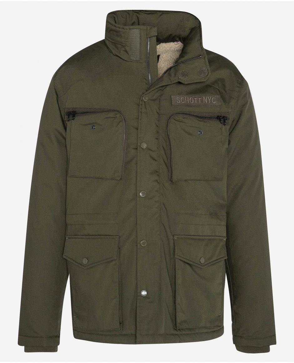 Veste army multipoches