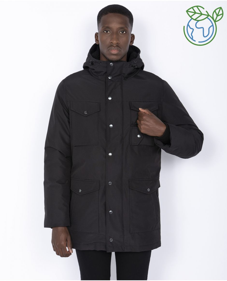 Outdoor parka, ecofriendly