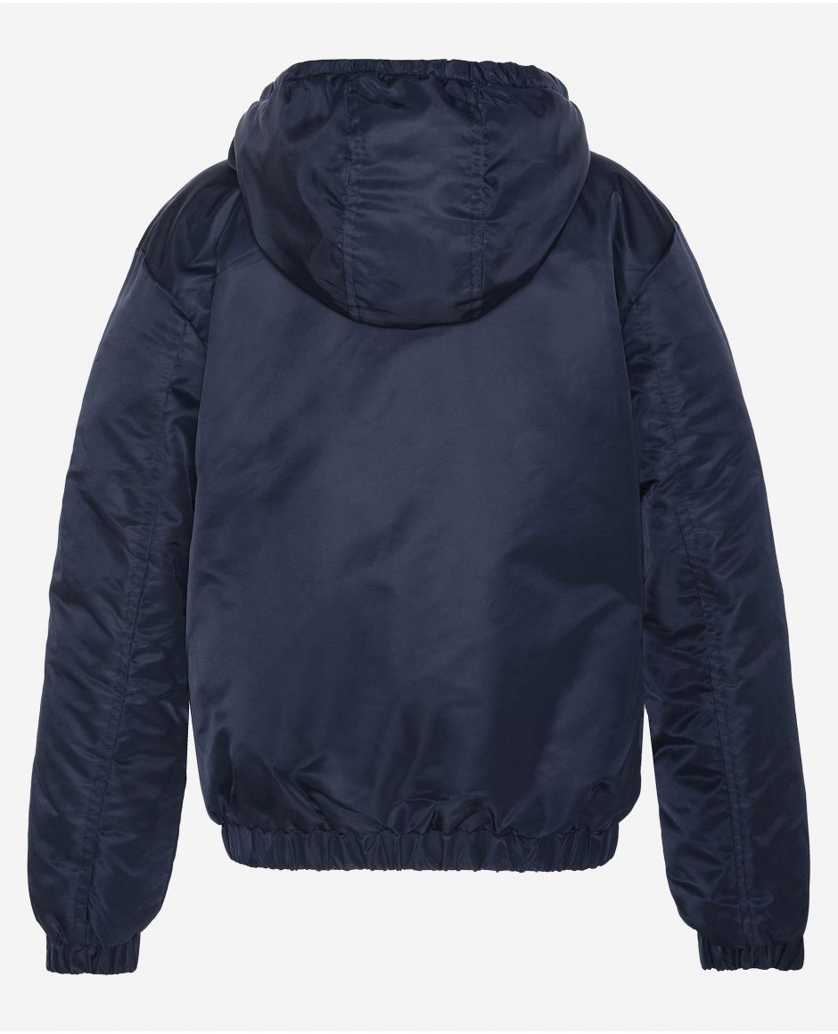 Winbreaker Jacket with fixed hood