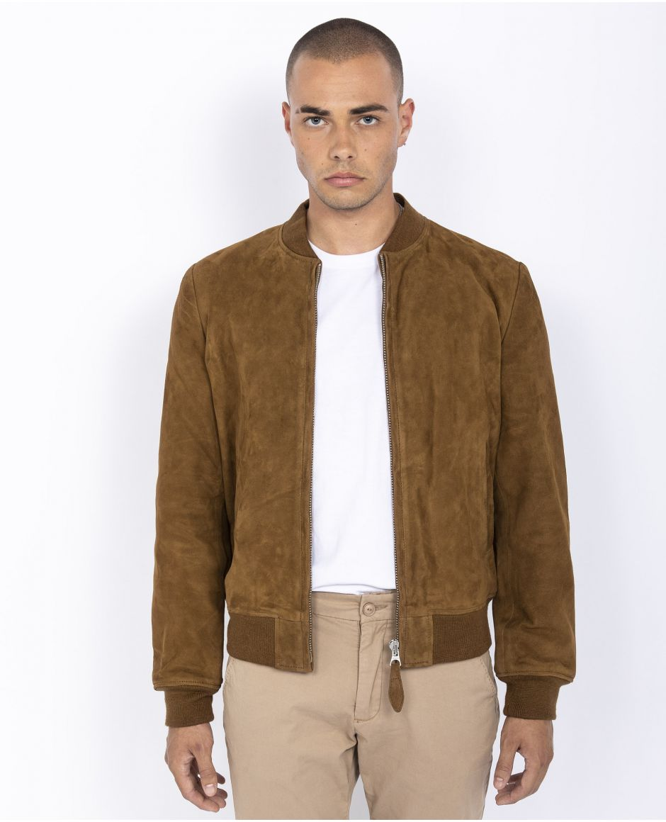 Casual bomber jacket