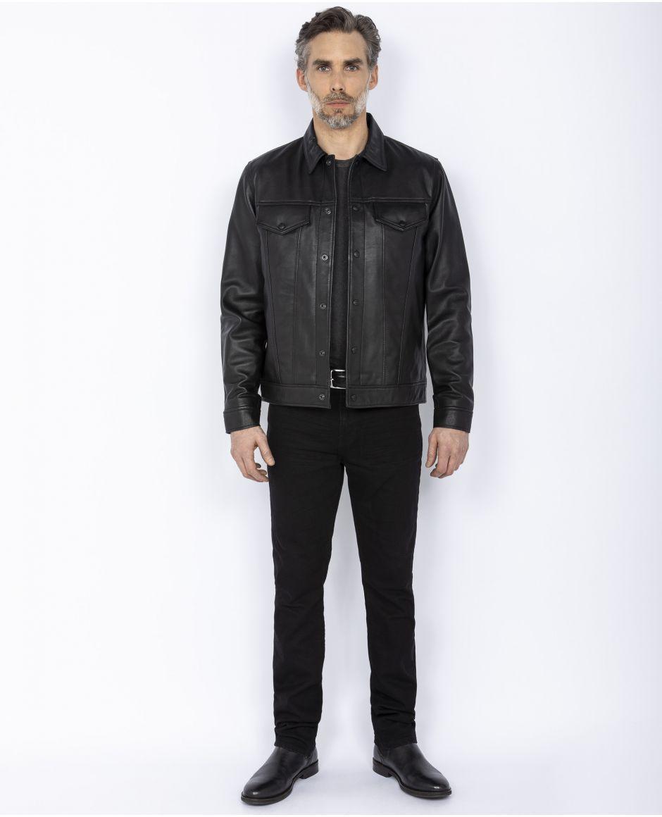 Truker leather jacket