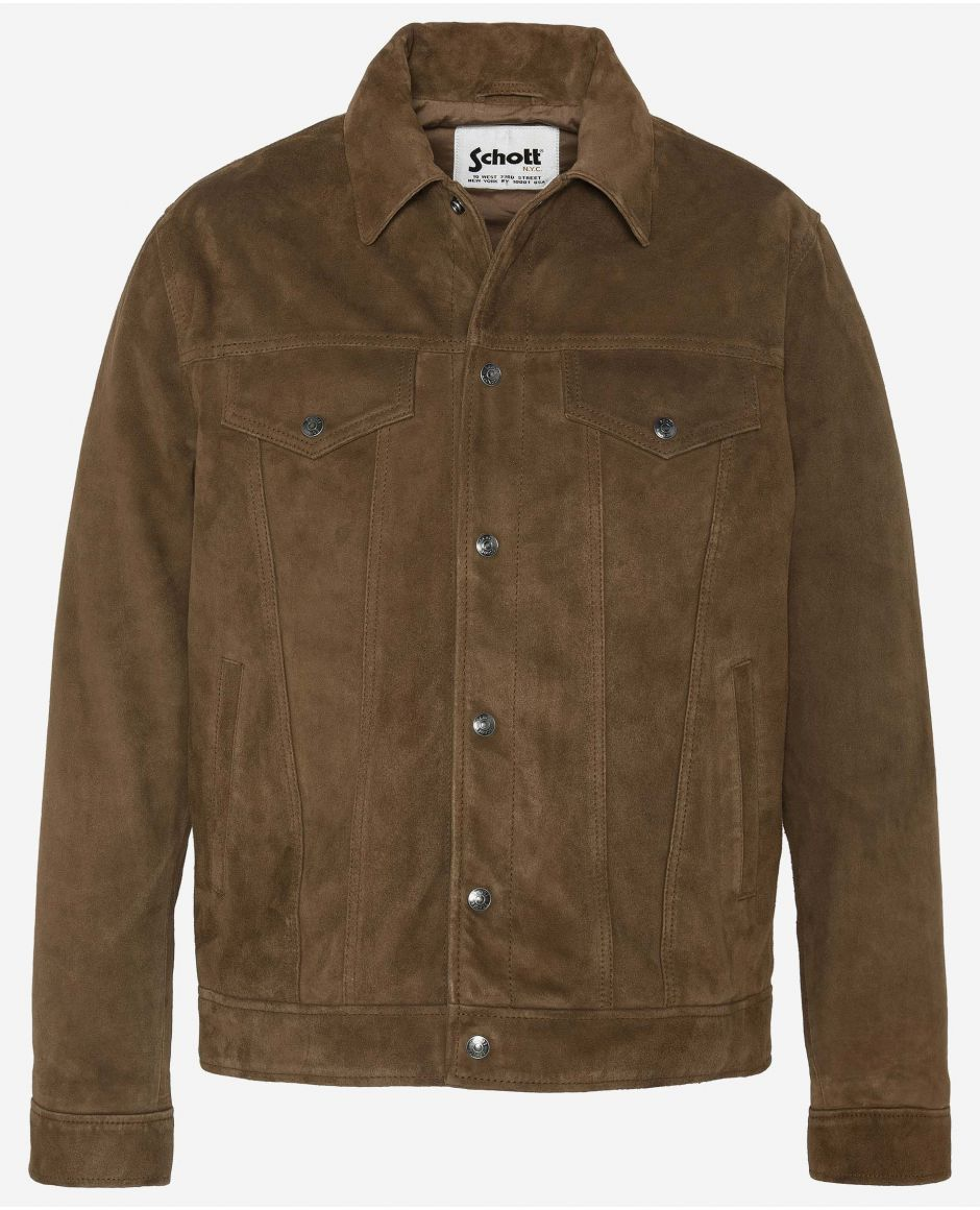 Truker leather jacket