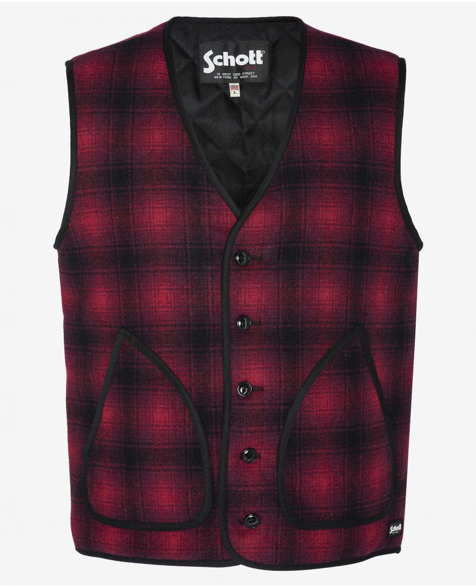 Rancher button down vest