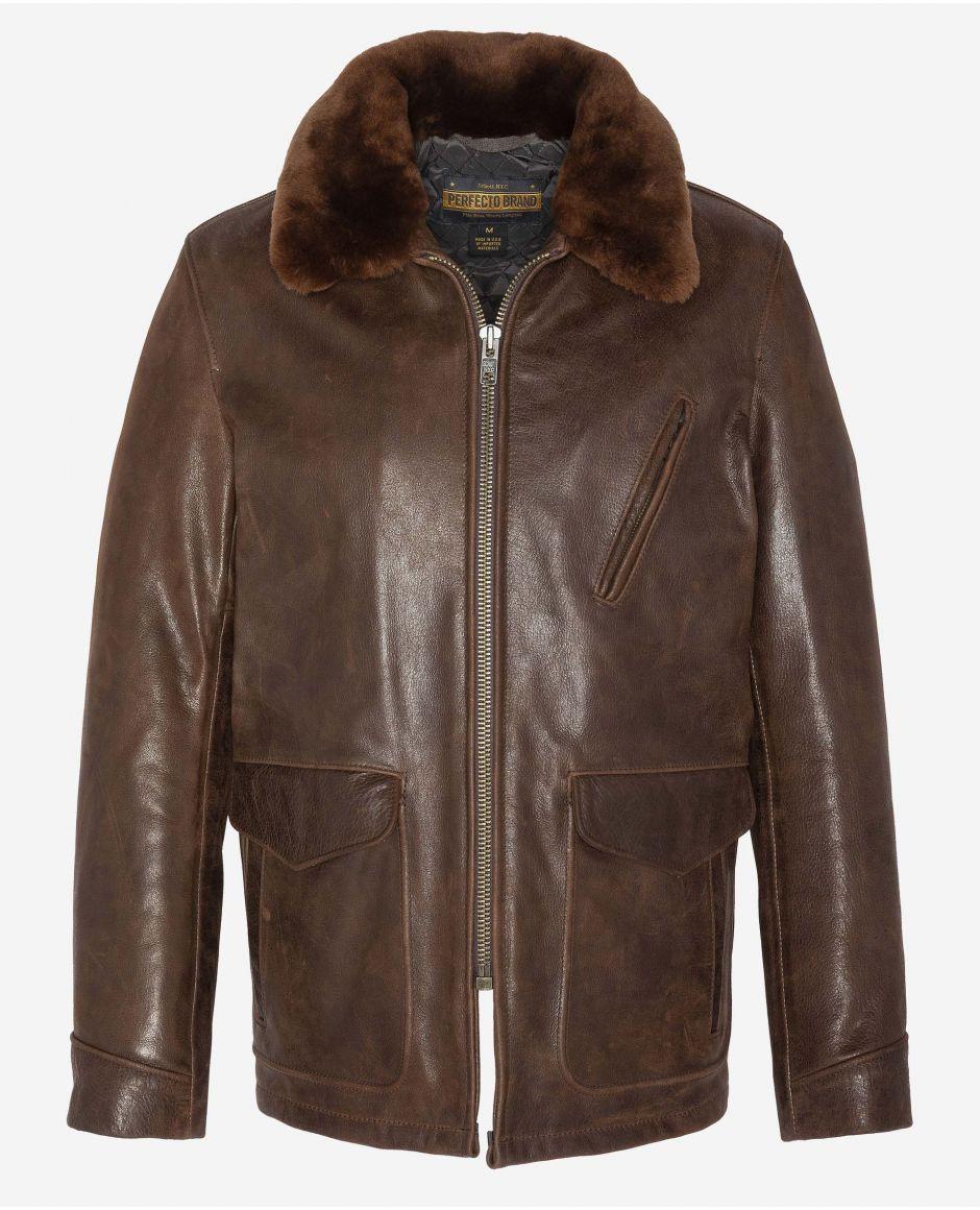 40s styled leather jacket, Mythical USA