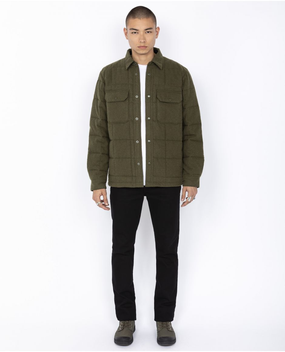 Urban quilted overshirt