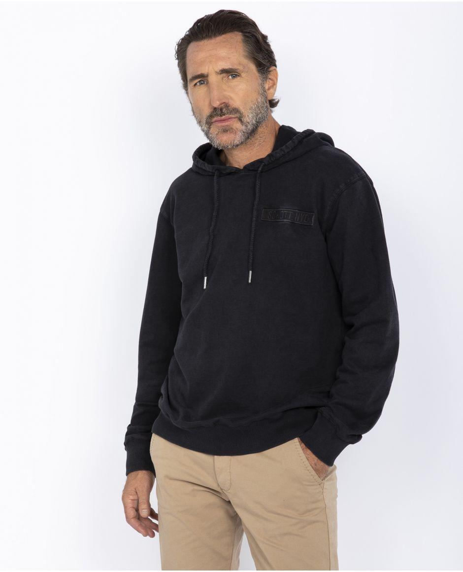 Hooded army sweatshirt