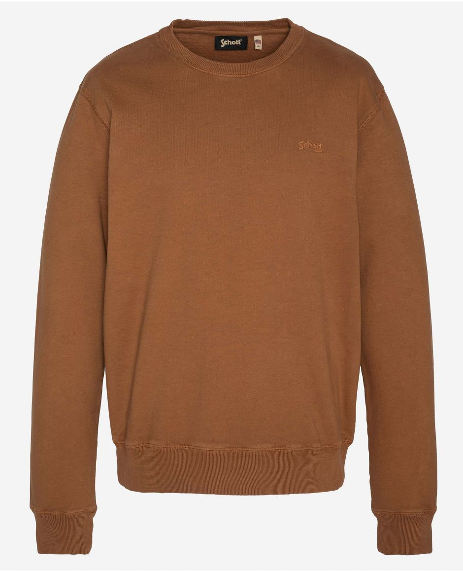 Sweatshirt à col rond