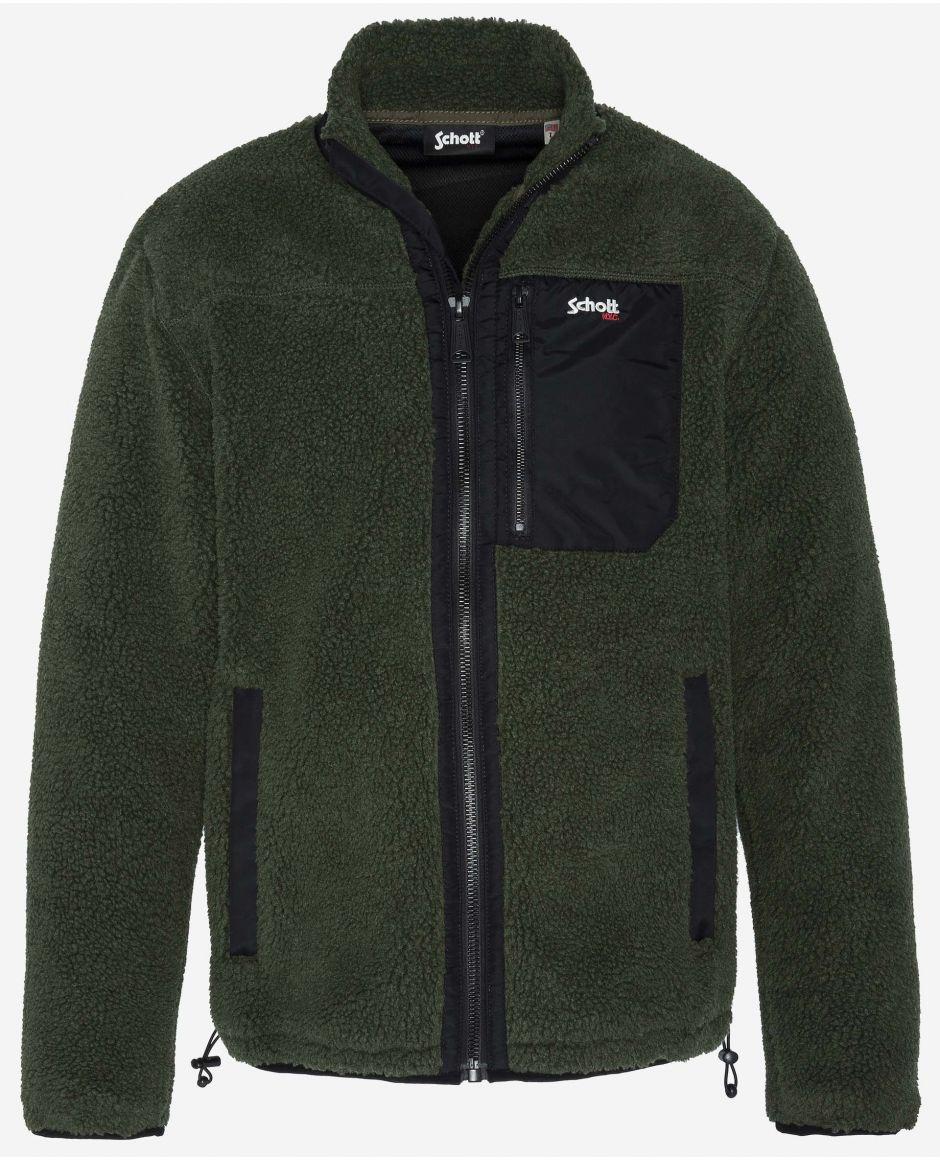 Sweatshirt sherpa polaire
