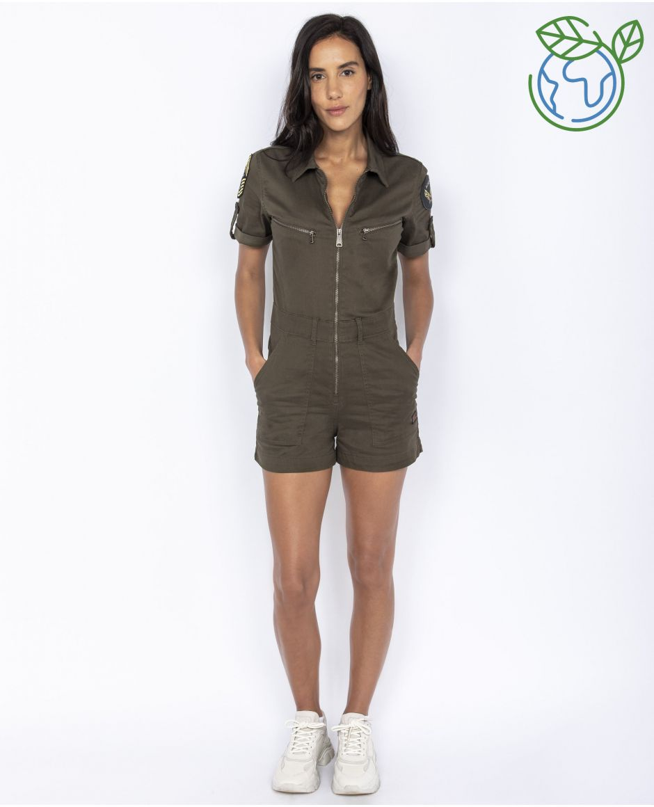 Eco-friendly Jumpsuit shorts