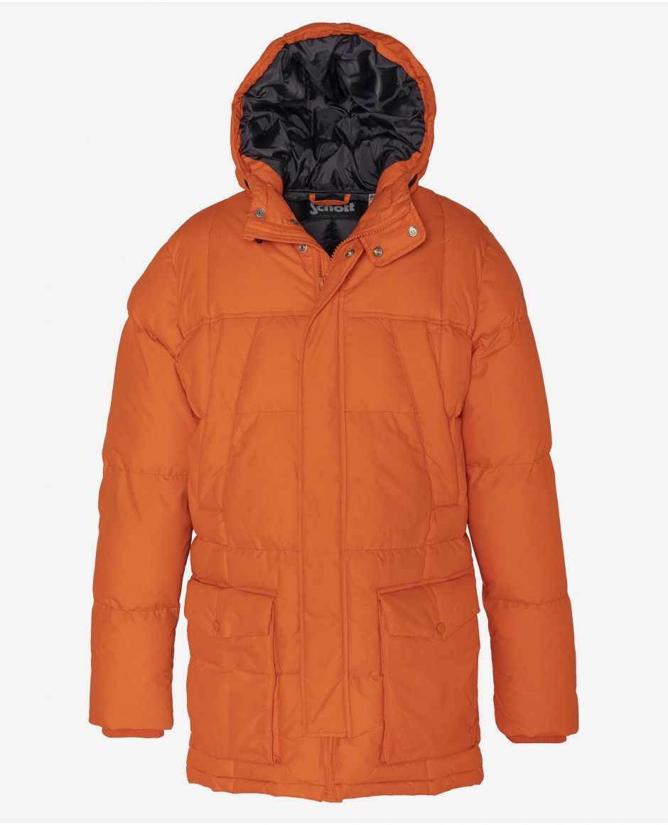 Parka, fixed hood