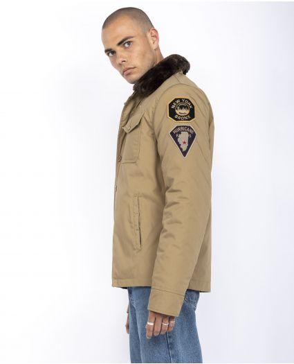Blouson police badgé