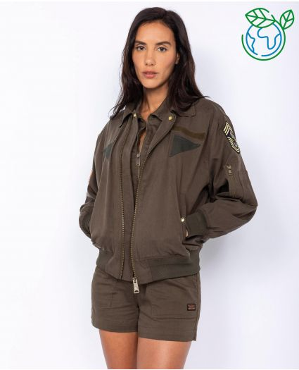 Eco-friendly Flight jacket