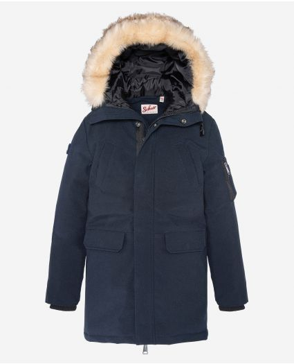 Parka à capuche junior