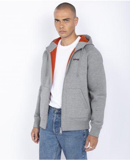 Sweatshirt zippé à capuche