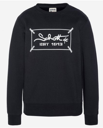 Sweatshirt ras-du-cou